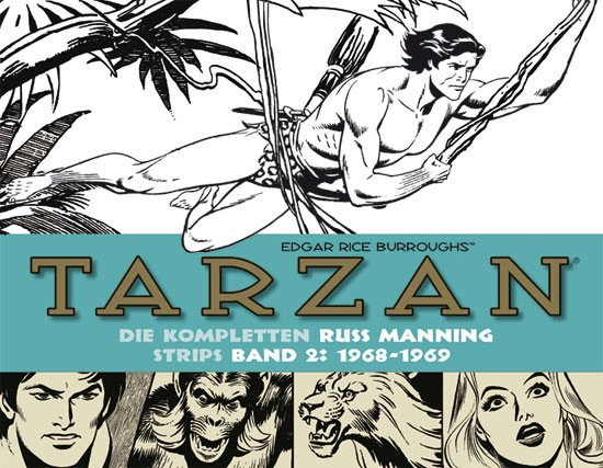 Tarzan: Manning Strips, Band 2
