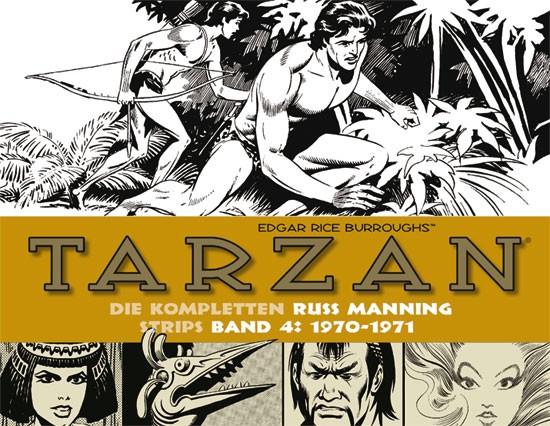 Tarzan: Manning Strips, Band 4