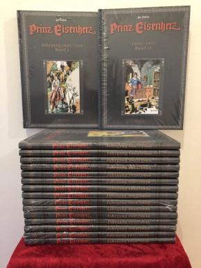Prinz Eisenherz, Hal Foster, Band 1-17, Buchpaket