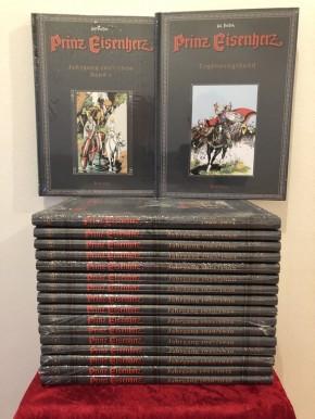 Prinz Eisenherz, Hal Foster, Band 1-18, Buchpaket